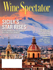 wine spectator october cover